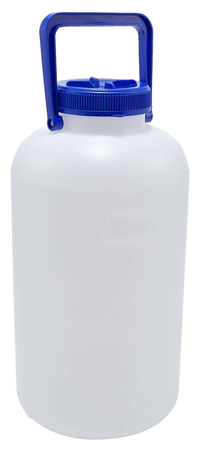 Dynalon Heavy Walled HDPE Carboys with Neck Insert 10L capacity; Bottle