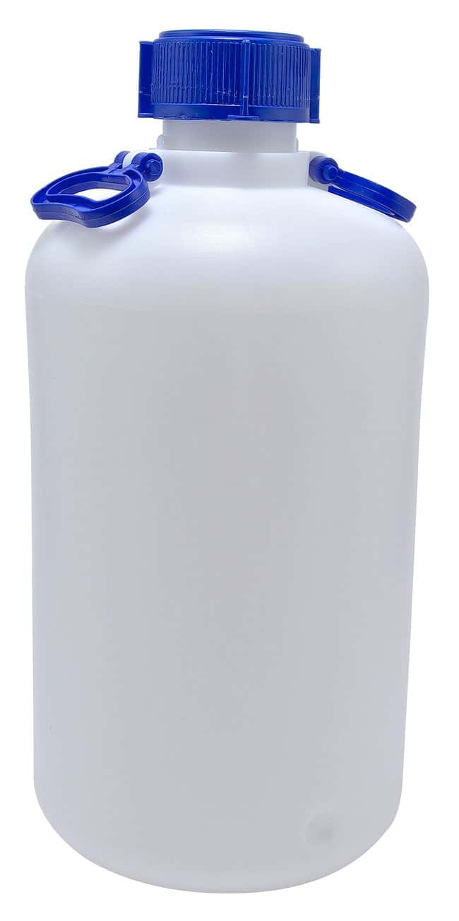 Dynalon Heavy Walled HDPE Carboys 25L capacity; 2 handles; Bottle O.D.:
