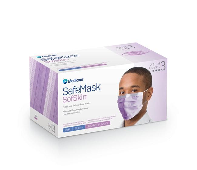 MedicomSafeMask SofSkin Level 3 Earloop Mask:Personal Protective Equipment:Respiratory