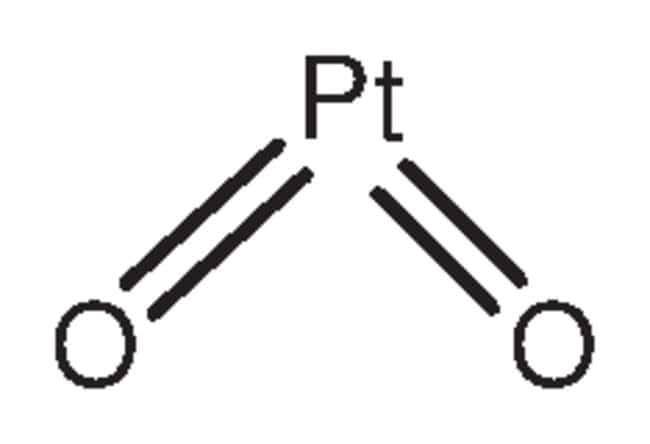 Platinum(IV) oxide hydrate, typical Pt-content 79-84%, ACROS Organics