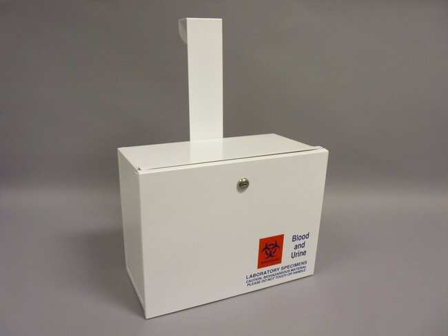Therapak Metal Duramark Lock Boxes:Racks, Boxes, Labeling and Tape:Mailing