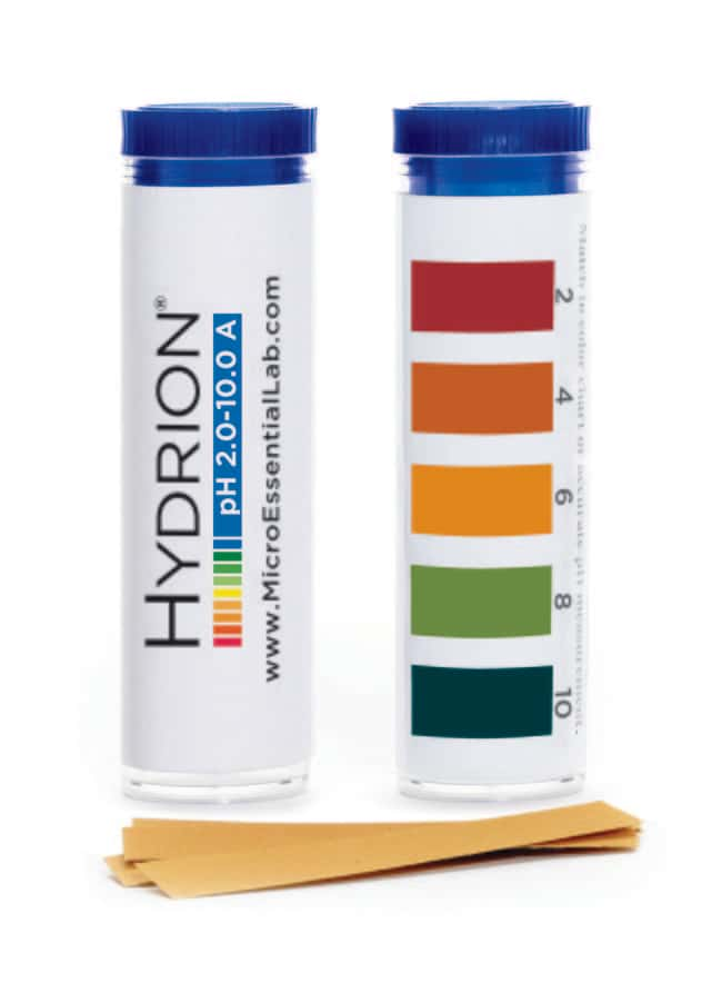 Micro Essential LabpH Test Paper, in Vial:pH and Electrochemistry:pH Paper