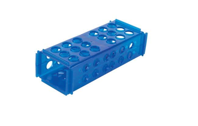 Fisherbrand Clinical 4-Way Rack Color: Blue:Racks, Boxes, Labeling and