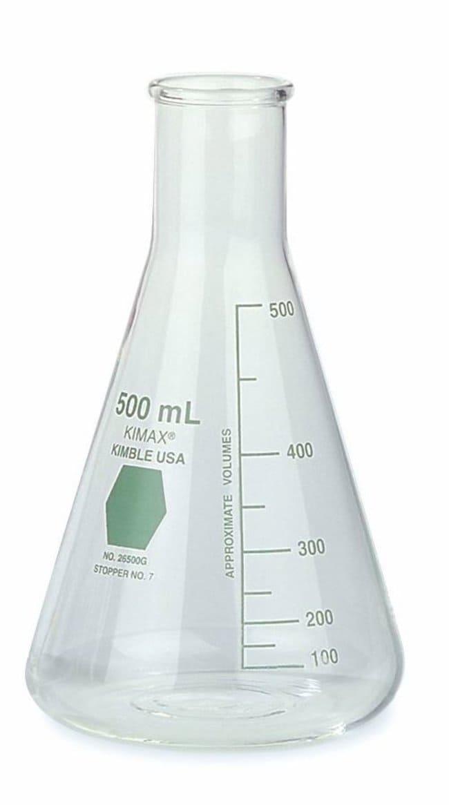 DWK Life Sciences Kimble KIMAX Colorware Flasks 125mL; For Stopper No.