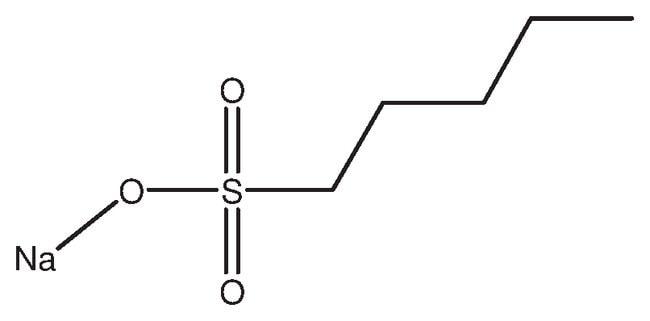 1-Pentanesulfonic acid, sodium salt hydrate, 99%, ACROS Organics™