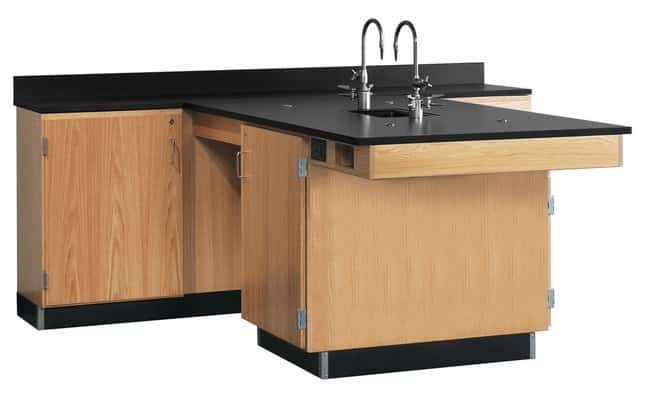 Diversified Woodcrafts Perimeter Workstations with Sink :Teaching ...