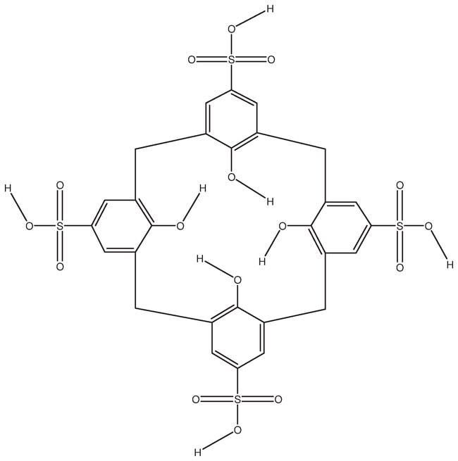 4-Sulfonic calix[4]arene hydrate, 95%, ACROS Organics™