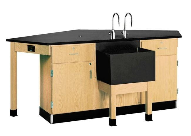 Diversified Woodcrafts™Forward Vision I Workstation with Door/ Drawer Cabinet<img src=