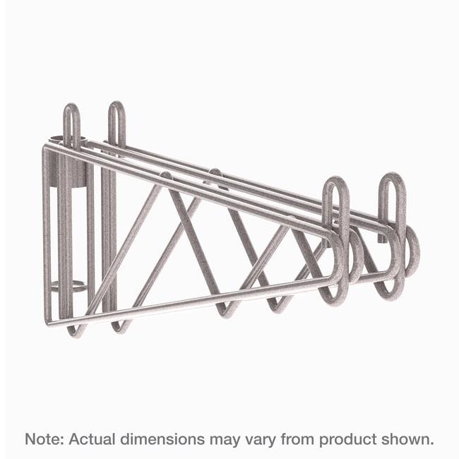 MetroSuper Erecta Post-Type Wall Mount Double Shelf Support:Furniture:Shelving