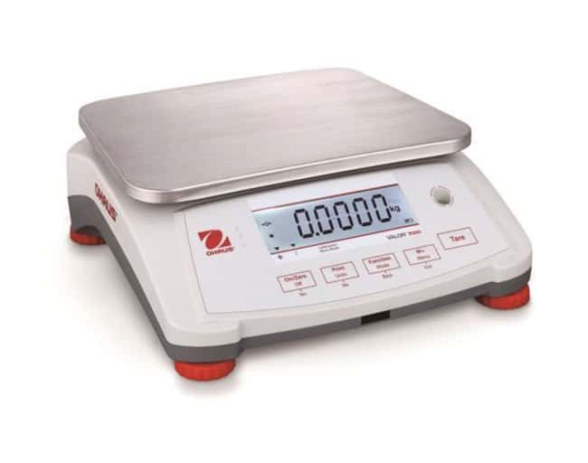 Ohaus™Valor™ 4000 Compact Bench Scales, Certified Model: V41XWE3T-M; Capacity: 3kg; Readability: 0.001kg; Stainless steel top/platform, ABS housing Ohaus™Valor™ 4000 Compact Bench Scales, Certified