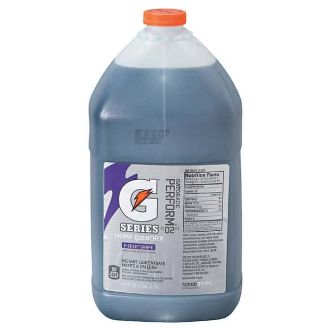 Gatorade Activity Drinks Liquid Concentrates:Gloves, Glasses and Safety:Facility