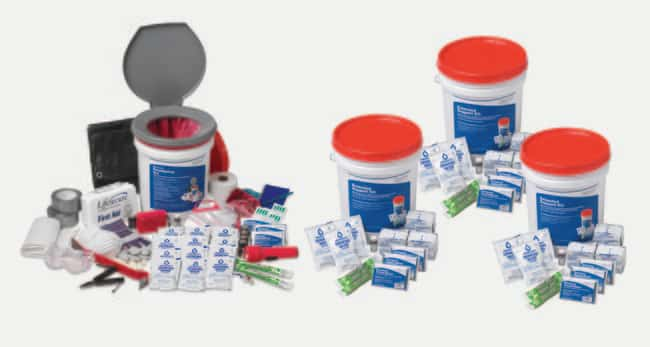 LifeSecure Complete 25-Person 3-Day Shelter-In-Place Combo Emergency Kit
