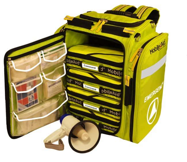 LifeSecure MobileAid Hi-Visibility XL Emergency Incident Response Kit (4-Person