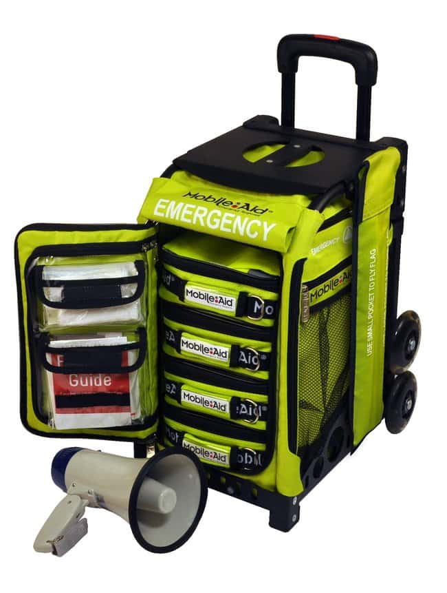LifeSecure MobileAid Easy-Roll Emergency Incident Command Station (4-Person