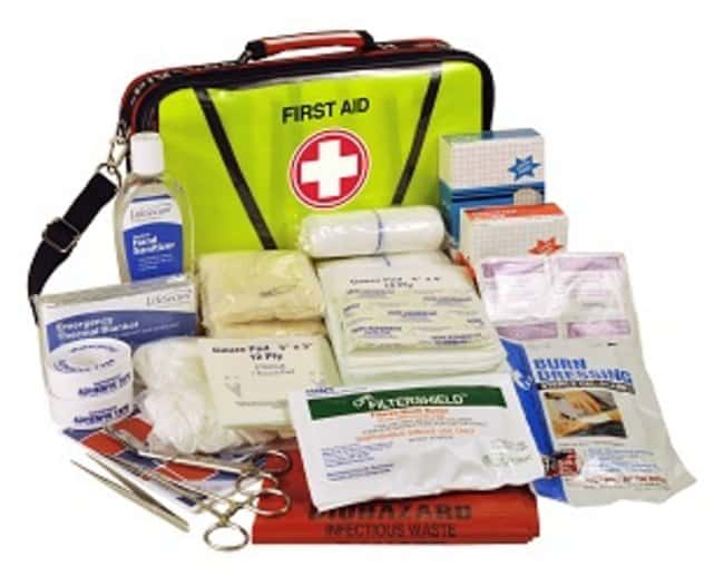 LifeSecure MobileAid OTS (Over-The-Shoulder) On-the-Go First Aid Kit Material: