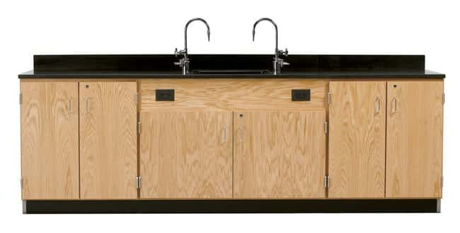 Diversified Woodcrafts Wall Service Bench   1 in. thick solid phenolic