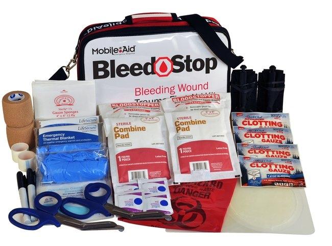 LifeSecure MobileAid BleedStop DOUBLE 300 Bleeding Control and Gunshot