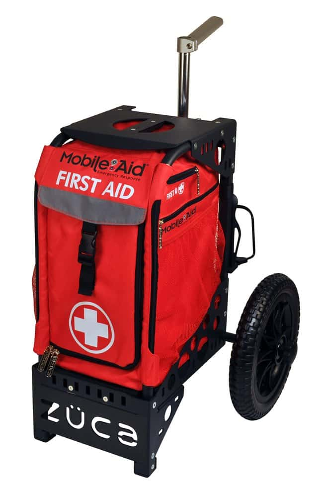 LifeSecure MobileAid ROLL-ANYWHERE All-Terrain Trauma Empty First Aid Cart