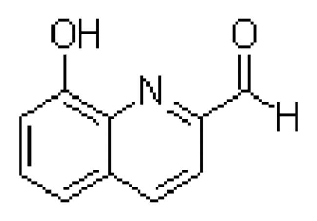 8 Hydroxyquinoline 2 Carboxaldehyde 98 ACROS Organics 1g Glass BottleChemicals