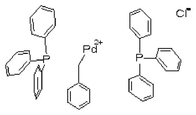 trans-Benzyl(chloro)bis(triphenylphosphine)palladium(II), ACROS Organics