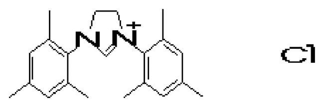 1,3-bis(2,4,6-trimethylphenyl)imidazolidinium chloride, 97%, ACROS Organics