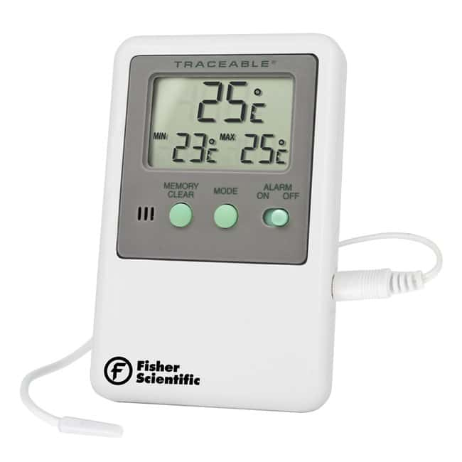 fisherbrand traceable digital thermometers with short sensors