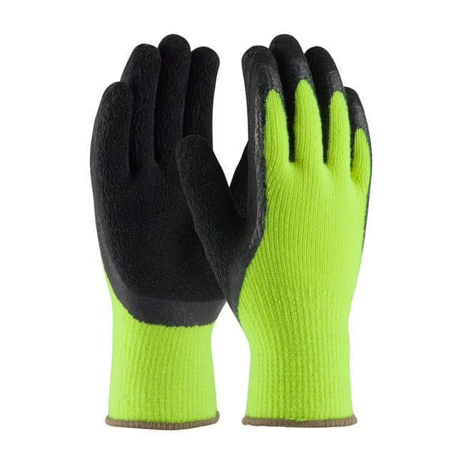 PIP Hi-Vis Seamless Knit Glove Size: Small
