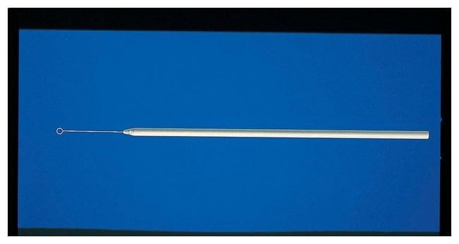 Fisherbrand™Anses d'inoculation en nichrome/aluminium Calibre 25 avec anse 3mm (D.I.) Anses et aiguilles d'inoculation