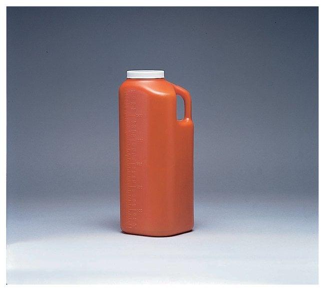 Fisherbrand 24-Hour Urine Container 3000mL graduation range; 40/cs.:Gloves,