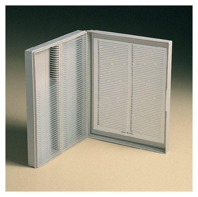 Fisherbrand Economy Microscope Slide Box  210 x 169 x 37mm; Max. Capacity:
