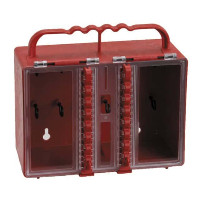 Brady Portable Plastic Group Lockout Box Portable Plastic Group Lockout