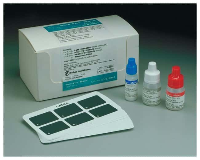 Fisher Healthcare Sure-Vue Mono Latex Test Kit :Diagnostic Tests and