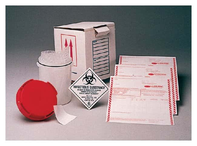 Com-Pac International Lab Corp FX-11 Infectious Substance Shipper Dual