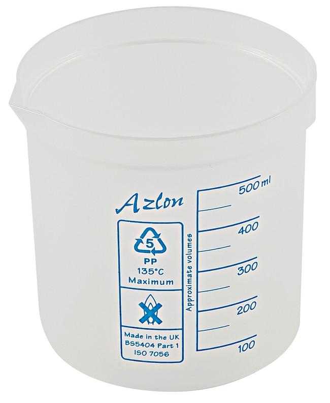 Dynalon  Azlon   Square Ratio  Polypropylene Beakers
