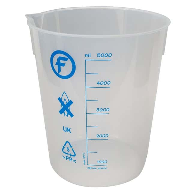 Fisherbrand  Low-Form Polypropylene Beakers
