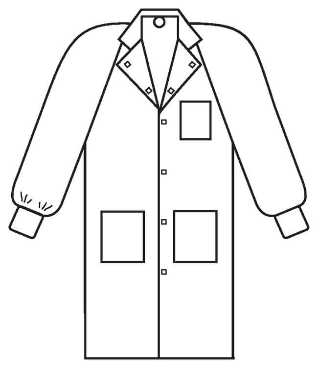 Kimberly-Clark Professional Universal Precautions Lab Coats:Gloves, Glasses