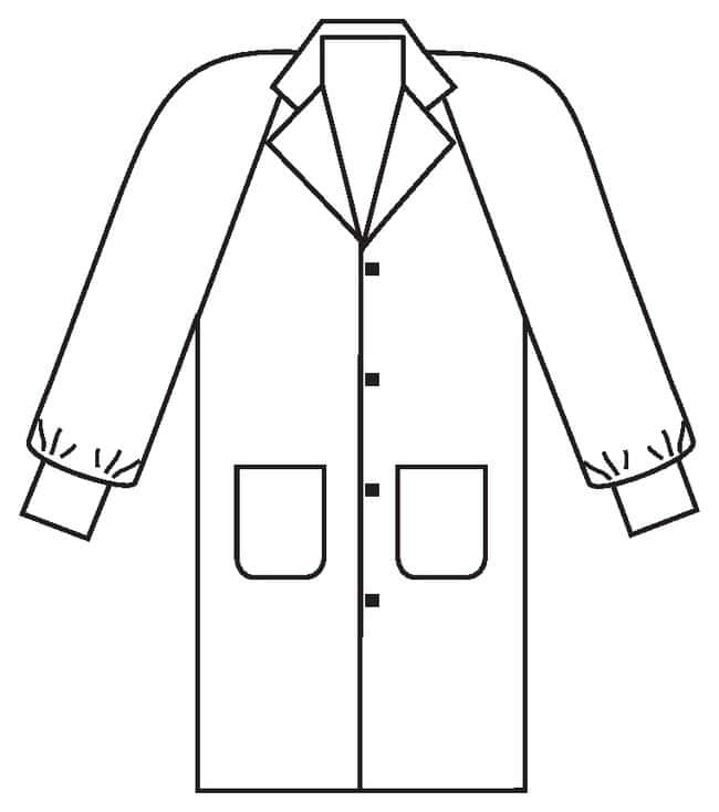 Kimberly-Clark Professional Basic Lab Coats:Gloves, Glasses and Safety:Lab