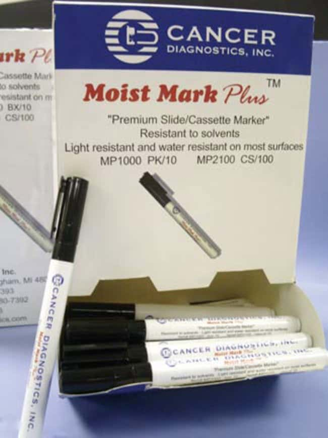Cancer Diagnostics, Inc. Moist Mark Plus Marking Pen Bulk Dispenser Pack:Gloves,
