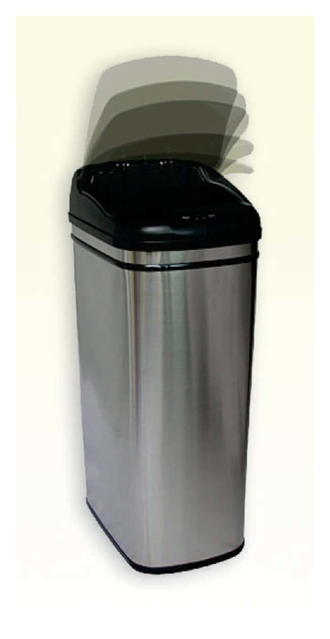 iTouchlessTrash Can Infrared motion sensor trashcan; 13 gal. (49.2L):Facility