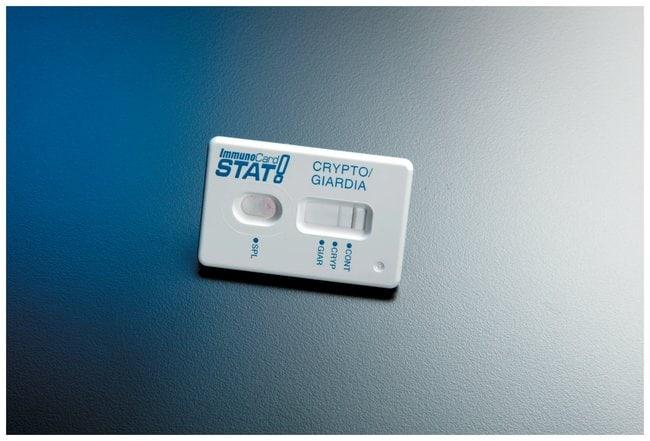 Meridian Bioscience ImmunoCard STAT! Cryptosporidium/Giardia Test Kit Cryptosporidium/Giardia