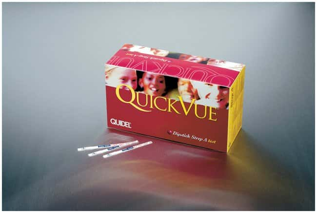 QuidelQuickVue Dipstick Strep A Test QuickVue Dipstick Strep A 50/pk:Microbial