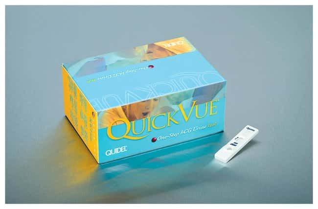 Quidel&trade;&nbsp;QuickVue&trade; One-Step hCG Urine Test&nbsp;<img src=