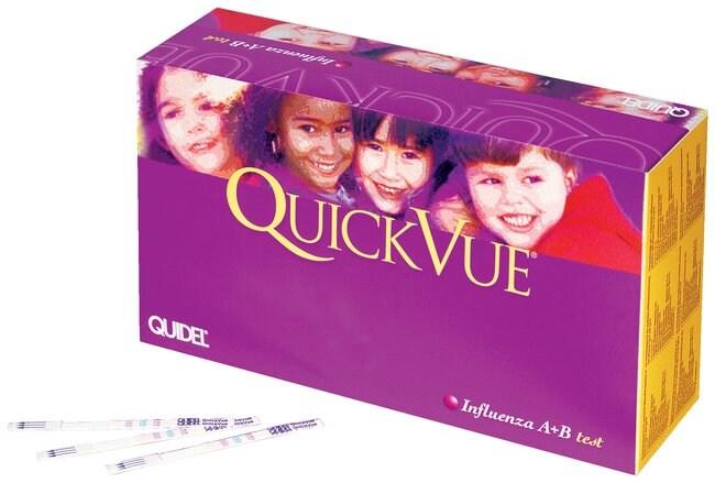 Quidel&trade;&nbsp;QuickVue&trade; Influenza A+B Test&nbsp;<img src=