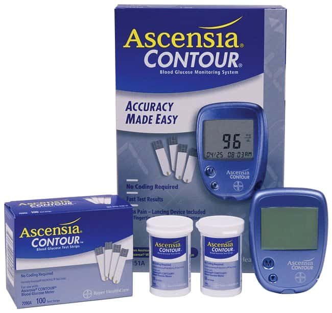 Ascensia Diabetes Care Contour Blood Glucose Monitoring