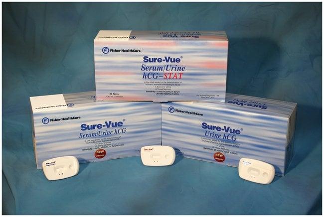 Fisher HealthCare Sure-Vue Serum/Urine hCG Test Kit:Healthcare:ClinicDx