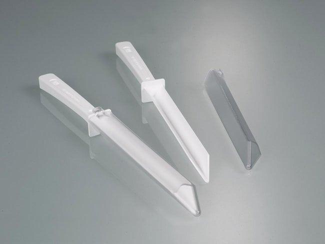 Buerkle™Spatule à usage unique LaboPlast™ Inclut: Avec manchon transparent Buerkle™Spatule à usage unique LaboPlast™