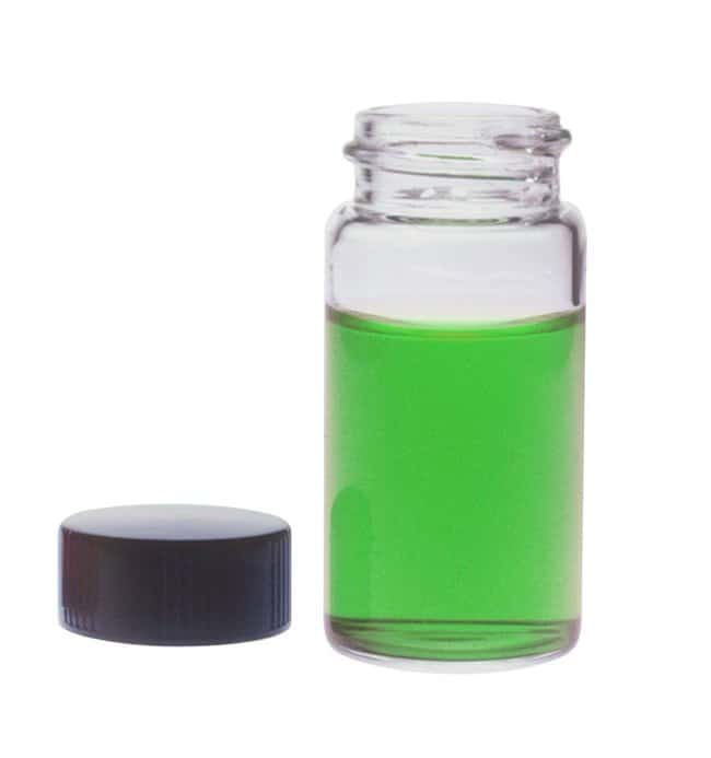 DWK Life Sciences Kimble Vials with Phenolic Caps and Polyvinyl-faced Liners