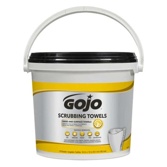 GOJO Scrubbing Towels Size: 170 Count:Gloves, Glasses and Safety