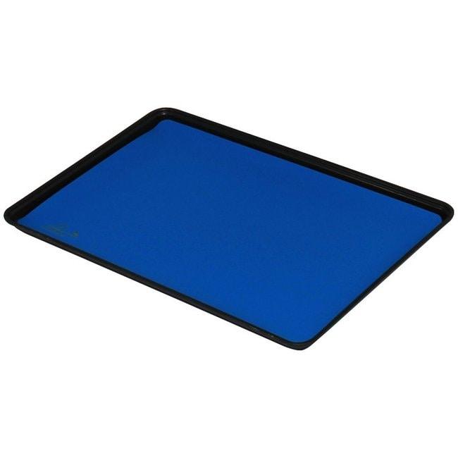 DescoStatfree B2 Dissipative 2-Layer Vinyl Tray Liner Color: Dark Blue:Facility