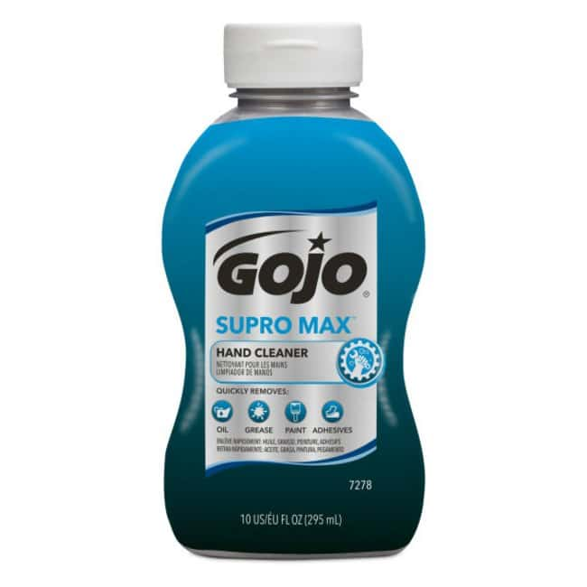 GOJO SUPRO MAX Hand Cleaner Size: 296mL (10 fl oz.):Gloves, Glasses and